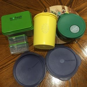 Tupperware bundle vintage & newer